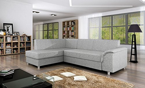 Ecksofa Bardot mit Schlaffunktion Sofa Couch Schlafsofa Polsterecke Bettfunktion