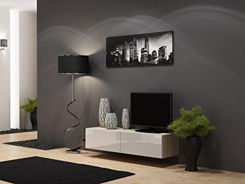 Jadella TV Board Lowboard Migo Hängeschrank Wohnwand
