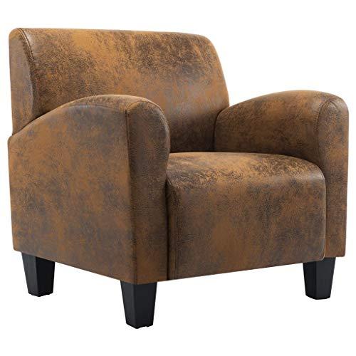 vidaXL Sessel Relaxsessel Polstersessel Armsessel Loungesessel Ledersessel Ruhesessel Fernsehsessel Stuhl Wohnzimmer…