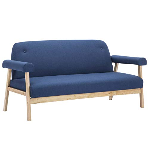 vidaXL Sofa 3-Sitzer Stoff Polstersofa Loungesofa Sessel mehrere Auswahl
