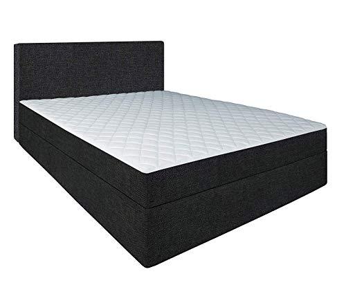 Generic Hercules-Bett Liegefläche 60cm hoch Die stabilere Alternative zum Boxspringbett metallfrei Hotelbett Long Life…
