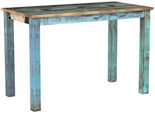 vidaXL Esstisch Altholz Esszimmertisch Küchentisch Speisetisch Holztisch Tisch, Mehrfarbig