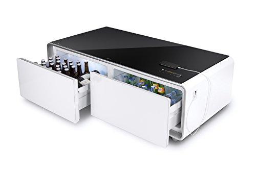 CASO Sound & Cool - Kombi aus Getränkekühler, Soundbar und Lounge-Tisch, Bluetooth, klangvoller Sound, ideal für Lounge…