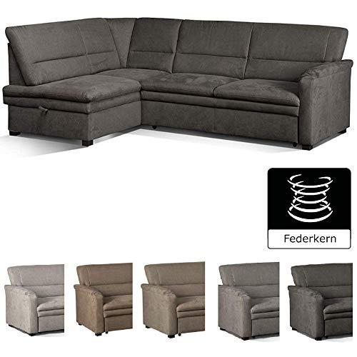 Cavadore Ecksofa Pisoo/L-Sofa mit hochwertigem