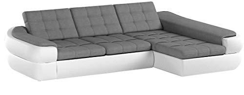 Ecksofa INFINITY MINI mit Schlaffunktion Sofa Couch Schlafsofa Polsterecke Bettfunktion (ottomane rechts, kunstleder…
