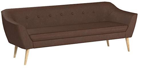 Sofa Scandi 3-Sitzer, Scandinavian Design, Couch 3-er, Couchgarnitur, Sofagarnitur, Holzfüße, Polstersofa - Wohnzimmer…