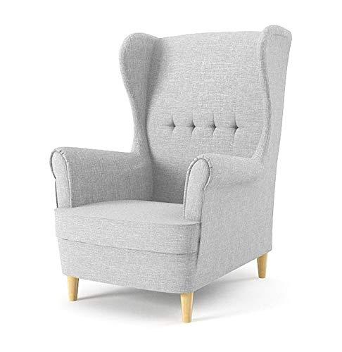 Sofini Ohrensessel Milo! Sessel für Wohnzimmer & Esszimmer! Skandinawisch, Relaxsessel aus Webstoff, Best Sessel…