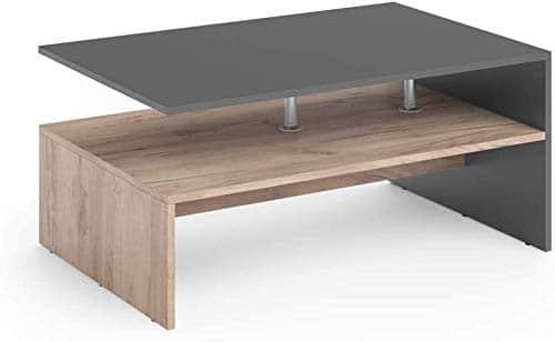 Vicco Couchtisch Amato 90 x 60 cm - Wohnzimmertisch Beistelltisch Holztisch Kaffeetisch - 3 Farben zur Auswahl