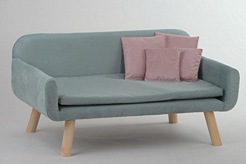 animal-design Hundesofa New mit Kissen Polstersofa Couch Hundebett Katzenbett Schlafplatz für Hunde und Katzen versch…