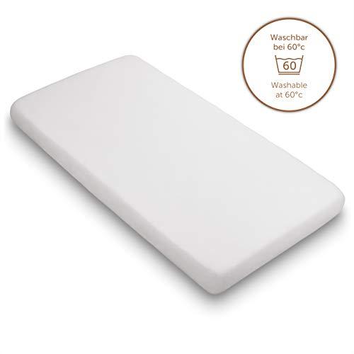 Blumtal Premium Topper Boxspringbett Spannbettlaken 90x 200 cm - Superweiches 100% Baumwolle Spannbetttuch, bis 15cm…