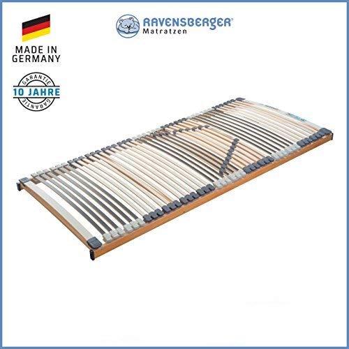 MEDIMED,FIX Neu RAVENSBERGER MEDIMED® 44-Leisten 7-Zonen-BUCHE-Lattenrahmen | Starr | Größen 80 x 200 cm bis 140 x 220 cm