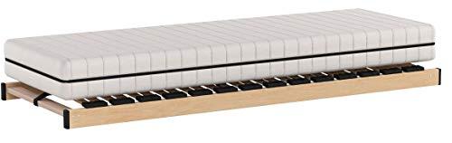 Matratzenset OrthoMatra KSP-500 und Lattenrost Max1 NV zur Selbstmontage Größe 120 x 200 cm, Farbe H2