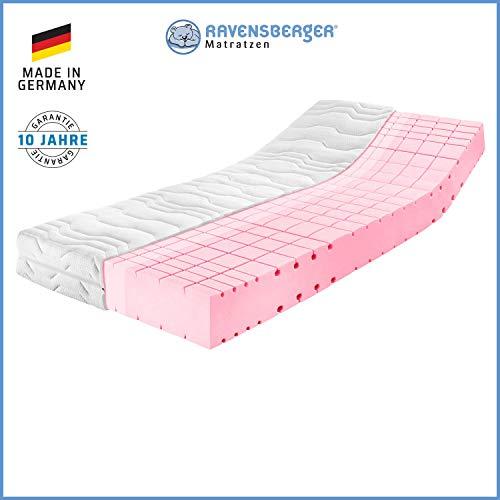 RAVENSBERGER Komfort-SAN® 50 | HR-Kaltschaummatratze | H2 RG 50 (45-80 kg) | Made in Germany - 10 Jahre Garantie…