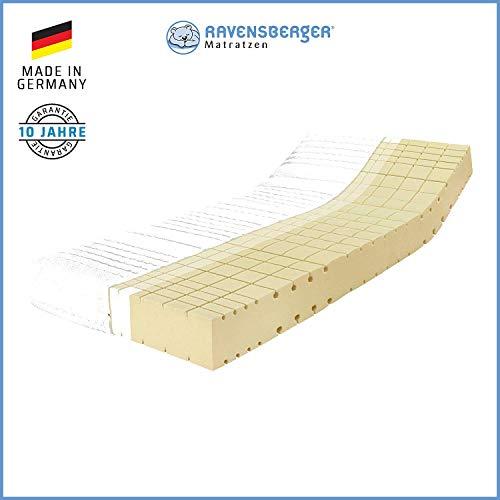 RAVENSBERGER Komfort-SAN® 50 | HR-Kaltschaummatratze | H3 RG 50 (80-120 kg) | Made IN Germany - 10 Jahre Garantie…